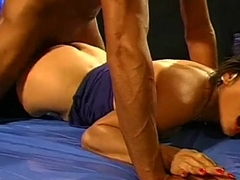 Cute Oriental babe gets her pussy covered with cum - German Goo Girls