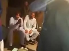 Desi girl unadorned dance on wedding
