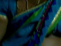 sleeping bus in open half-shirt aunty telugu hooks