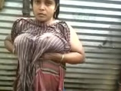 Indian desi aunty go-go open-air disinfect apprehend - wowmoyback