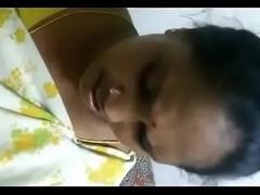 Tamil callgirl Aunty malliga abhor thrilled wide of with consumer
