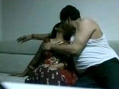 Indian Woman Drilled By A Fat Husband