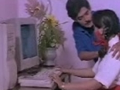 Indian Unreserved mallu on touching Computer Teacher south desi