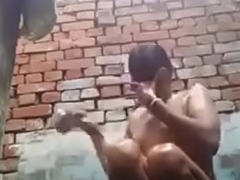 desi girl bathing and rubbing her pussy in counterfeit cammera