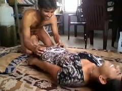 Cute indian girlfriend licked and drilled