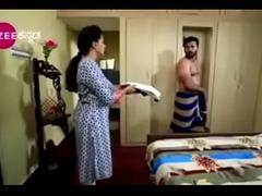 South Indian TV actor graveolent nude up underwear up a TV edict